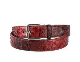 Cinturon Python Rojo