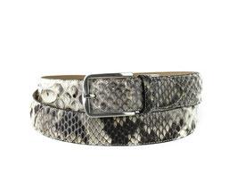 Cinturon Python Blanca