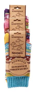 Norwegersocken 3er Pack