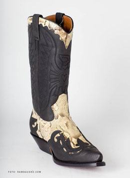 Prime Boots 670 OC Black Sebae White