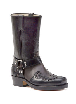 Biker Stiefel B 670 r. antic black / 5931