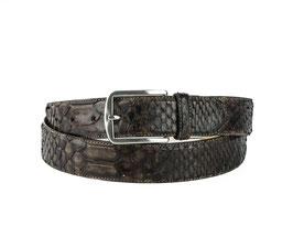 Cinturon Python Marron