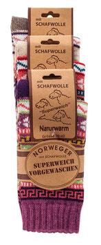 Norwegersocken 3er Pack Nr.1
