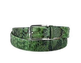 Cinturon Python Verde