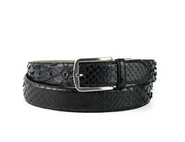 Cinturon Python Negro
