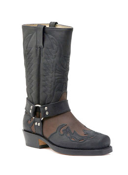Biker Stiefel B 670 r. black / brown