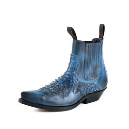 Stiefeletten Western Mayura Rock 2500 Python Azul