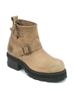 Engineer Boots Low Damen / Herren 2976 Tank Spr. Hueso