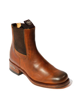 Chelsea Boots Damen / Herren 4264 Ev.Tang.Us.Negro
