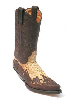 Sendra Boots 3241 c. spr. 7004 / Phython barr. nat.