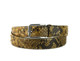 Cinturon Python Cuero