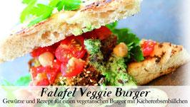 Falafel Veggie Burger - Soulfood Gewürzkasten