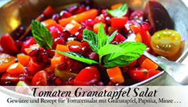 Tomaten Granatapfel Salat - Soulfood Gewürzkasten