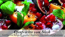 Ofenfrüchte vom Blech - Soulfood Gewürzkasten