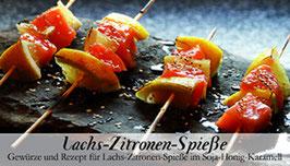 Lachs-Zitronen-Spieße - Soulfood Gewürzkasten