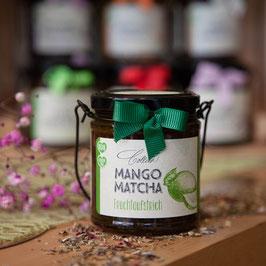 Mango Matcha im Henkelglas