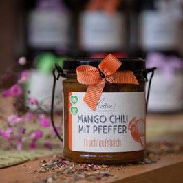 Mango Chili mit Pfeffer im Henkelglas