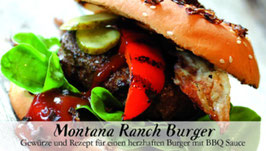 Montana Ranch Burger - Soulfood Gewürzkasten