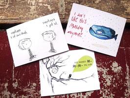Postkarten 3er-Set