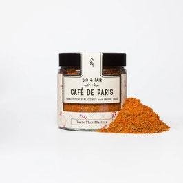 Café de Paris Bio - Ein Klassiker für die berühmte Kräuterbutter oder Sauce, 50 g im Glas