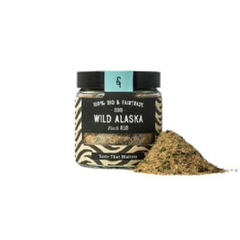 Wild Alaska Bio Fisch Rub, 70 g im Glas