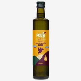 Bio-Olivenöl, nativ extra, Flasche (500ml)