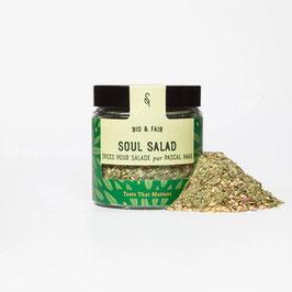 Soul Salad Bio - Salatgewürz von Pascal Haag, 45 g im Glas