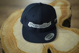 """Groundlow"" Snapback ""Dark blue"""