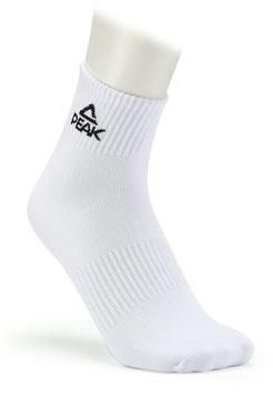PEAK Socken Low White