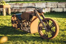 Gartengrill «Motorrad»