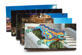Packs de postales de Barcelona