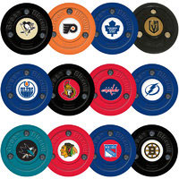 GREEN BISCUIT Puck NHL
