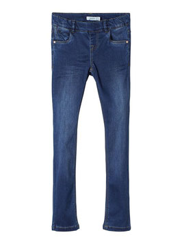 Hose - Jean - Superweiche Jeggings blau - Schlupfjean - NAME IT KIDS MÄDCHEN