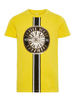gelbes Shirt cool - NAME IT KIDS JUNGEN