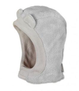 Kopfbedeckung - Schalmütze - grau - Babymütze - Ohren - Sterntaler