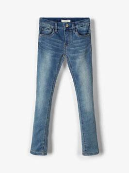 Hose - Jean - Powerstretch Sweatdenim Jean blau - NAME IT KIDS JUNGEN