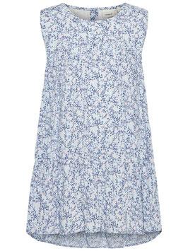 Kleid - zarte Blumen - ärmellos hellblau - NAME IT MINI MÄDCHEN
