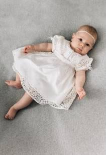 Tauf und Hochzeitsdirndl - Baby- Dirndl - Sonnblick - Mogo - Tracht Mädchen