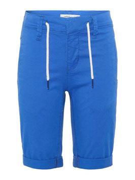 Short - lang - blau - Bio - Baumwolle - NAME IT KIDS JUNGEN