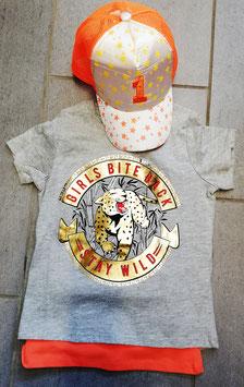Shirt - Tiger Print Shirt  - NAME IT KIDS MÄDCHEN