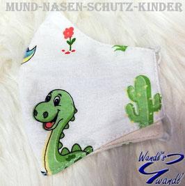 Mund-Nasen-Maske-Kinder - Dino