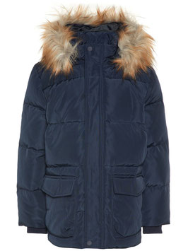 Kinder Winterjacke Daunen marine - NAME IT KIDS JUNGEN