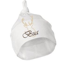 Kopfbeckung - Trachten Mütze  BUA natur - Babytracht