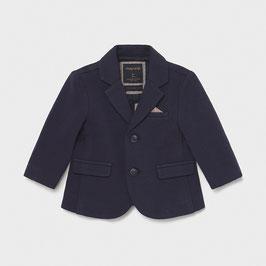 Blazer - Anzug - Jacke - weich - marine - Junge - Taufe - Festmode - Mayoral
