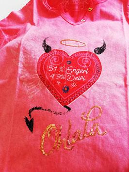 Shirt - Tracht - Hangowear Damenshirt rot - ENGERL & DEIFI