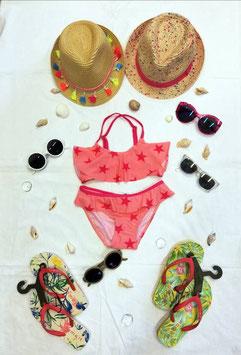 Bademode - Bikini - Sterne mit Rüsche - NAME IT KIDS BADEMODE