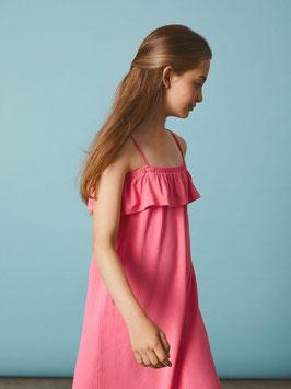 Kleid - Sommerkleid rosa mit verstellbaren Träger - NAME IT KIDS MÄDCHEN