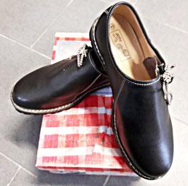 Schuhe - Tracht - Herren - Haferlschuh Herren - Glattleder schwarz - Herrentracht