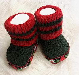 Socken - Trachten Socken in dunkelgrün - Babytrachten