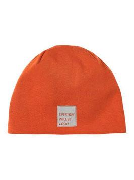"Kopfbedeckung - Mütze - ""EVERYDAY WILL BE COOL""  -konjak braun - NAME IT KIDS"